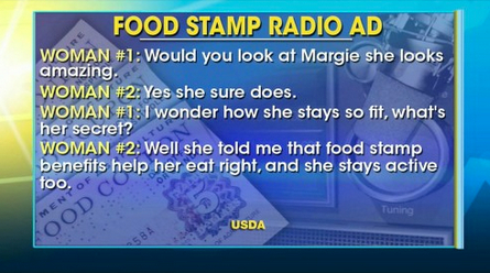 Federal Government Spends $3M on Ads Promoting Food Stamps | Fox News Insider