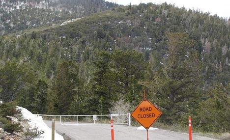 5905462-Road_Closed_Great_Basin_National_Park