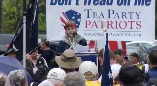 Linda Dorr speaks at the Road to Repeal Rally in D.C. - YouTube